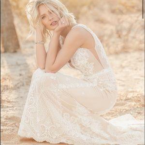 Agata Louise Maggie Sottero wedding dress sz 12